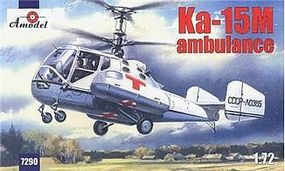 A-Model-From-Russia Kamov Ka15M Ambulance Helicopter Plastic Model Helicopter Kit 1/72 Scale #7290