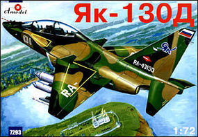 A-Model-From-Russia Yak130D Soviet Trainer Aircraft Plastic Model Airplane Kit 1/72 Scale #7293