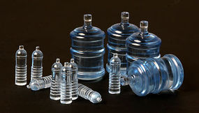 Meng Water Bottles for Vehicles Plastic Model Military Figure Accessory 1/35 Scale #sps010
