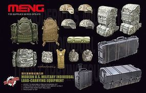 Meng Modern US Individual Load-Carrying Equipment Plastic Model Military Accessory 1/35 #sps15