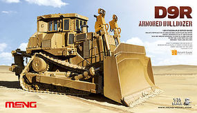 Meng D9R D00B1 ARMORED BULDOZER 1/35 Scale Plastic Model Military Vehicle #ss002