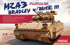 Meng M2A3 Bradley with Busk III Plastic Model Military Vehicle Kit 1/35 Scale #ss004