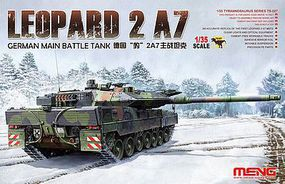 Meng Leopard 2 A7 German MBT Plastic Model Military Vehicle Kit 1/35 Scale #ts027