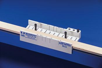 Midwest Easy Mitre Box -- Razor Saw Hack Saw -- Hobby and Model Cutting Tool -- #1135