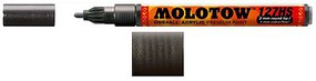 Molotow 2mm Metallic Black Acrylic Paint Marker