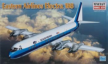 Eastern Airlines L-188 Electra Plastic Model Airplane Kit 1/144 Scale #14661
