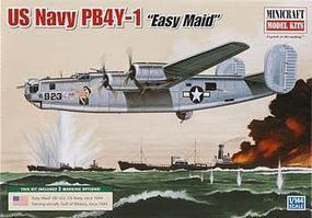 Minicraft PB-4Y-1 USN Plastic Model Airplane Kit 1/144 Scale #14664