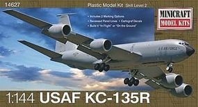 Minicraft KC-135R USAF w/2 Marking Options Plastic Model Airplane Kit 1/144 Scale #14708