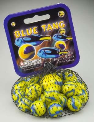 Mega Marbles Blue Tang Marbles -- Marble -- #77755