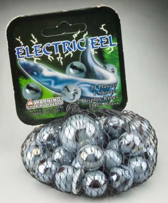 Mega Marbles Electric Eel Marbles -- Marble -- #77758