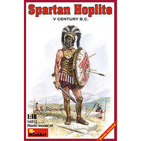 Mini-Art Spartan Hoplite V Century B.C. Plastic Model Military Figure 1/16 Scale #16012
