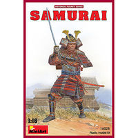 Mini-Art Samurai Warrior Plastic Model Military Figure 1/16 Scale #16028