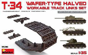 Mini-Art T34 Wafer-Type Halved Workable Track Link Set Plastic Model Military Vehicle 1/35 #35216