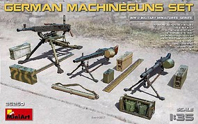 Mini-Art 1/35 WWII German Machine Guns & Equipment
