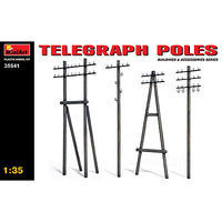 Mini-Art 1/35 Telephone Poles (Various Types)