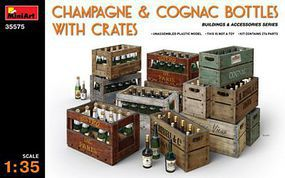 Mini-Art 1/35 Champagne Cognac Bottles w/Crates