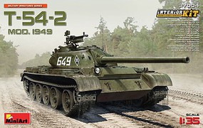 Mini-Art 1/35 Soviet T54-2 Medium Mod 1949 Tank w/Full Interior (New Tool)