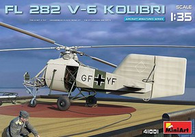 Mini-Art 1/35 FL282 V6 Kolibri (Hummingbird) Single-Seat Scout Helicopter (New Tool) (FEB)