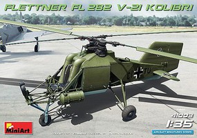 Mini-Art 1/35 FL282 V21 Kolibri Single-Seat German Helicopter