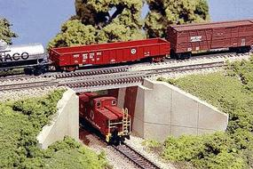 Monroe Expansion Bridge Kit For #9005 Concrete and Girder Bridge N Scale Model Railroad Bridge #9006