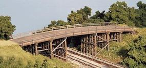 Monroe Country Road Bridge N Scale Model Railroad Bridge #9007