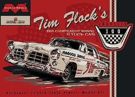 Moebius Tim Flocks 1955 Chrysler 300 Winning Stock Car Plastic Model Kit 1/25 Scale #1203
