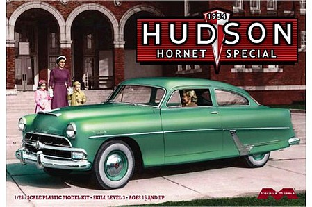 Moebius Models 1954 Hudson Hornet Special -- Plastic Model Car Kit -- 1/25 Scale -- #1214