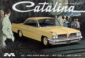 Moebius 1961 Pontiac Catalina Plastic Model Car Kit 1/25 Scale #1217