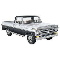 Moebius 1972 Ford Sport Custom Pick-Up Plastic Model Truck Kit 1/25 Scale #1220