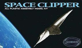 Moebius Space Clipper Orion Science Fiction Plastic Model Kit #2001-2