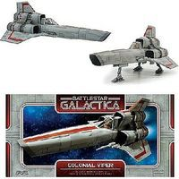 Moebius Finished BSG Classic Viper Pre-Built Space Plastic Model #2940