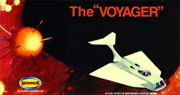 Moebius Models The Voyager -- Science Fiction Plastic Model Kit -- #831