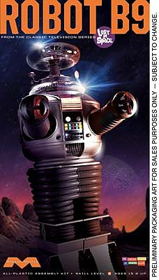 Moebius Models Lost in Space Robot -- Plastic Model Celebrity Kit -- 1/6 Scale -- #939
