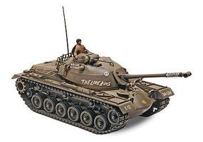 Monogram M-48 A-2 Patton Tank Plastic Model Tank Kit 1/35 Scale #857853