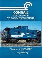 Morning-Sun Conrail Color Guide to Freight Equipment Volume 1 1976-1987 Model Railroading Book #1042