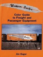 Morning-Sun Western Pacific Color Guide to Freight and Passenger Equipment Model Railroading Book #1063