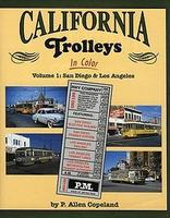 Morning-Sun California Trolleys in Color Volume 1 San Diego & Los Angeles Model Railroading Book #1081