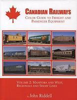 Morning-Sun Canadian Railways Guide to Freight and Passenger Equip Volume 2 Model Railroading Book #1312