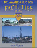 Morning-Sun Delaware & Hudson Facilities in Color Model Railroading Book #1525