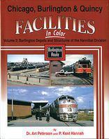 Morning-Sun Chicago Burlington and Quincy Facilities Volume 2 Model Railroading Book #1547
