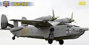 Modelsvit Beriev Be12 Soviet Amphibious Aircraft Plastic Model Airplane Kit 1/72 Scale #72012
