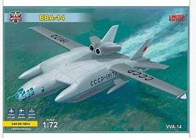 Modelsvit BBA14 Soviet Experimental Hydroplane Plastic Model Airplane Kit 1/72 Scale #72014