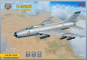 Modelsvit Sukhoi S32 Mk Soviet Bomber (New Tool) Plastic Model Airplane Kit 1/72 Scale #72019