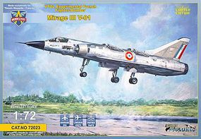 Modelsvit Mirage III V01 Experimental Fighter/Bomber Plastic Model Airplane Kit 1/72 Scale #72023