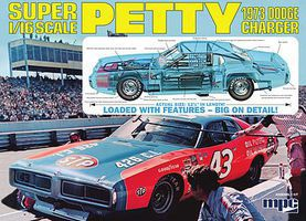 MPC Richard Petty Nascar Charger - Plastic Model Car Kit - 1/16 Scale - #767/06