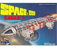 MPC Space 1999- Eagle-1 Plastic Model Space Craft 1/72 Scale #791