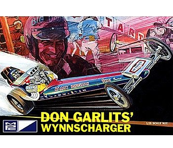 MPC by Ertl Don Garlits Wynns Charger Front Engine Rail Dragster -- Plastic Model Car Kit -- 1/25 Scale -- #810