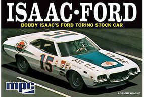 MPC 1972 Ford Torino Bobby Isaac #15 Plastic Model Car Kit 1/25 Scale #839