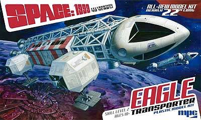 MPC by Ertl Space 1999 Eagle Transporter -- Science Fiction Plastic Model Kit -- 1/48 Scale -- #825-06
