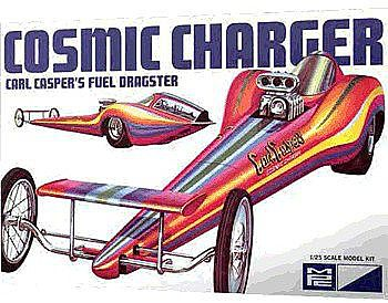 MPC by Ertl Cosmic Charger Carl Casper -- Plastic Model Car Kit -- 1/25 Scale -- #826-12